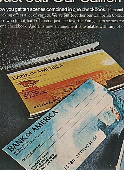 Bank of America ad 1970 (Image1)