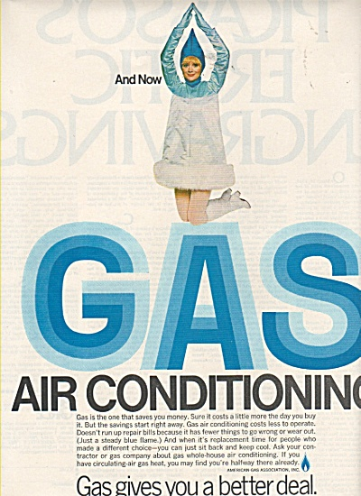 Gas Air Conditioning Ad 190