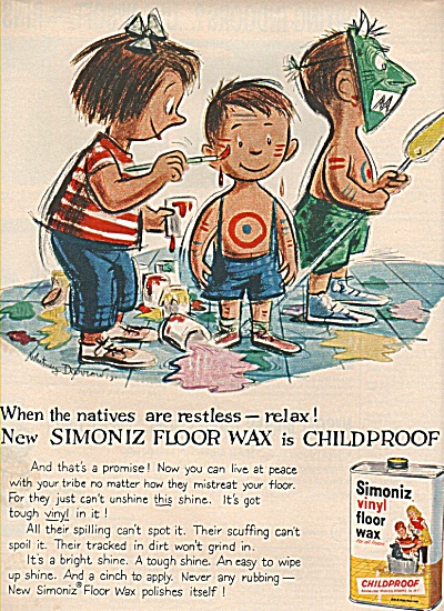 Simoniz vinyl floor wax ad 1959 (Image1)