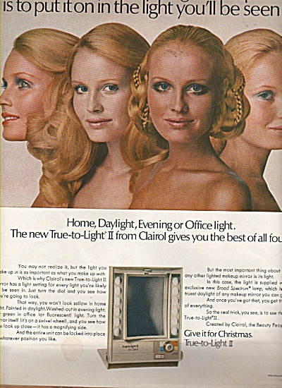 Clairol - True to lighty II.  ad 1970 (Image1)