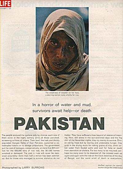 PAKISTAN  Survivors await help story 1970 (Image1)