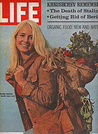 Model GUNILLA KNUTSON  cover of Life - 1970 (Image1)
