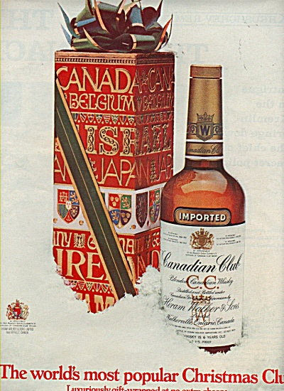 Canadian club whisky ad 1970 (Image1)