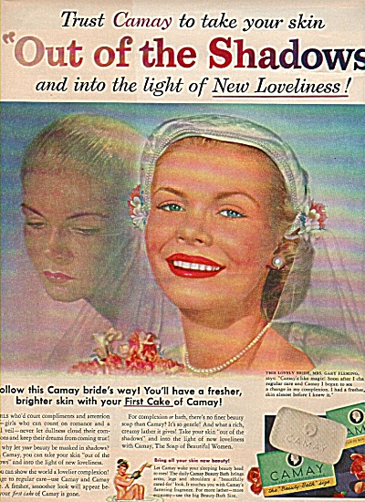 Camay soap ad 1951 MRS GARY FLEMING (Image1)