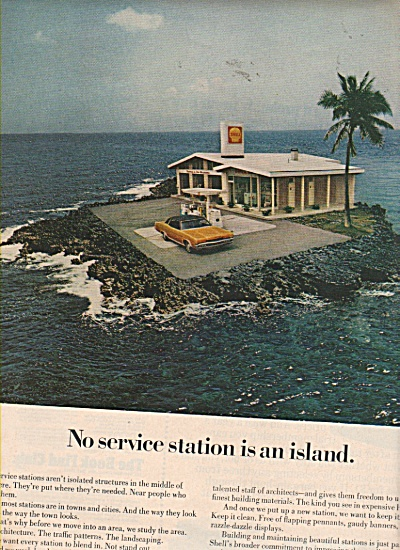 Shell Gas And Oil Ads 1970