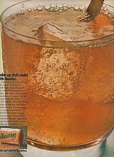 Awake breakfast drink ad 1970 (Image1)