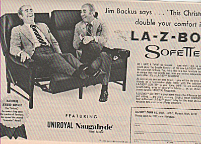 La-Z-boy chair - JIM BACKUS 1970 (Image1)