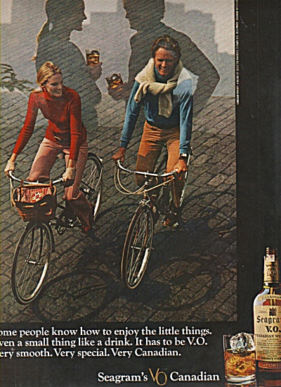 Seagrams Vo Canadian Ad 1970