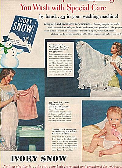 Ivory snow ad 1951 (Image1)