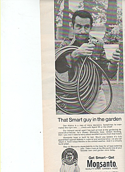 Monsanto - DON ADAMS of Get Smart  TV ad 1970 (Image1)