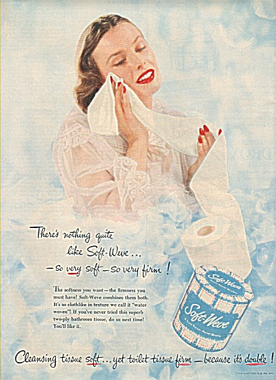 Soft-weve tissue add 1951 (Image1)