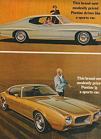 Pontiac automobiles ad 1970 (Image1)