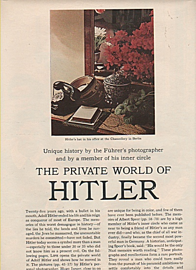 The private world of ADOLF HITLER  story 1970 (Image1)