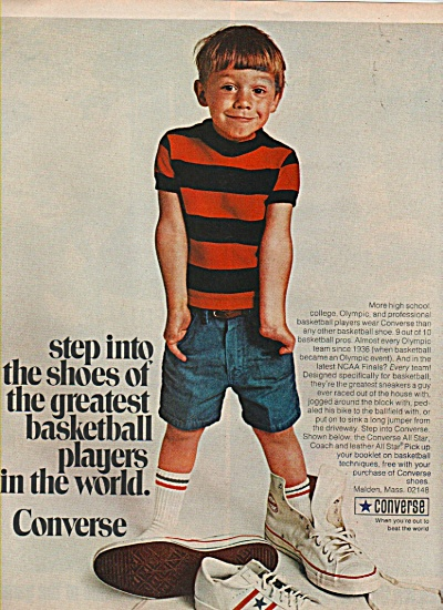 Converse shoes ad 1970 (Image1)