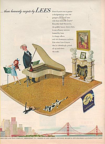 Lees carpets ad 1952 (Image1)