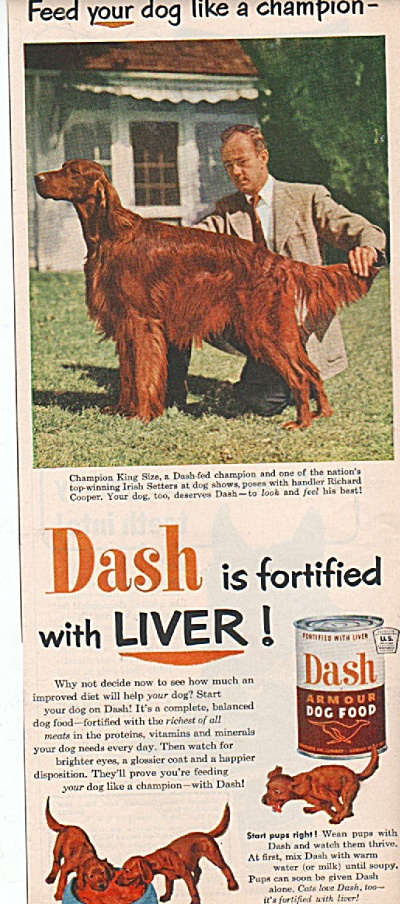 Dash Armour dog food ad 1952 (Image1)