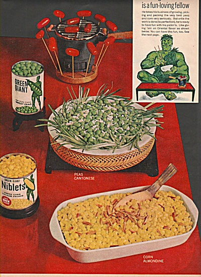Green Giant Niblets Ad 1960