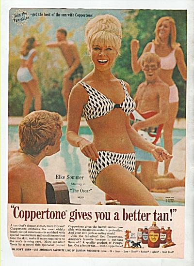 Coppertone -  ELKE SOMMER AD  1966 (Image1)