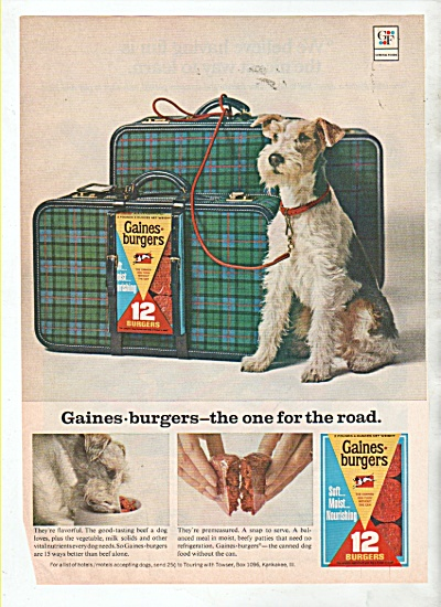 Gainesburgers ad 1966 (Image1)
