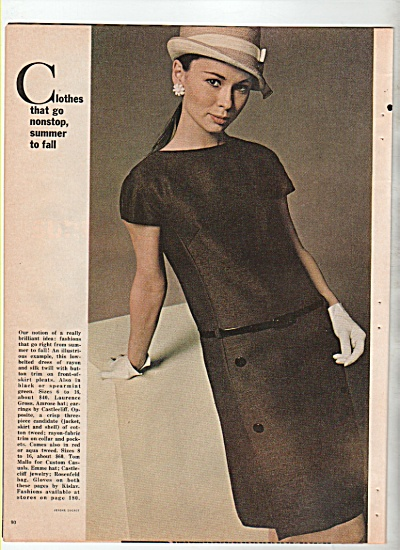 Clothes shown by  PROFESSIONAL MODELS  1966 (Image1)