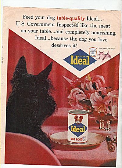 Ideal dog food ad 1964 (Image1)