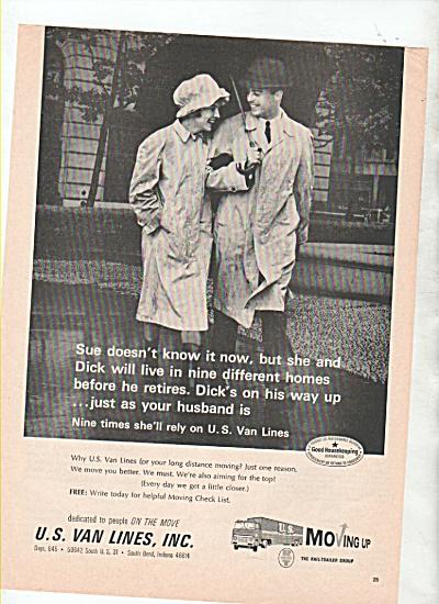 U.S. Van Lines, Inc. ad 1964 (Image1)
