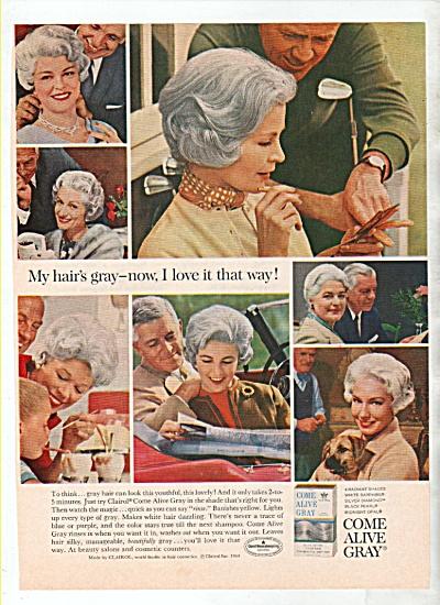 Come Alive Gray ad 1964 (Image1)