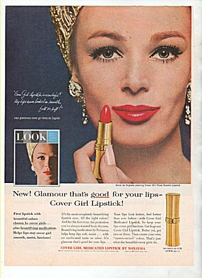 Cover girl Noxzema ad 1964 ANNE DE ZOGHEB (Image1)