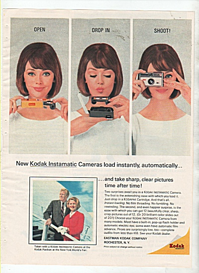 Kodak Camera Ad 1964