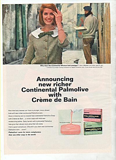 Palmolive soap bars ad 1964 (Image1)