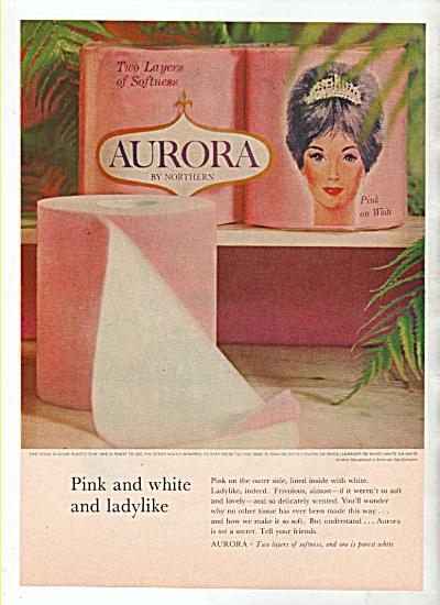 Aurora by Northern ad 1964 (Image1)