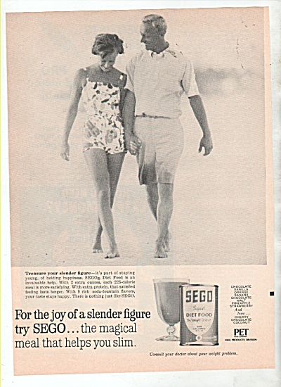 Sego liquid diet food ad 1964 (Image1)