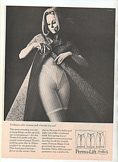 Perma-lift Girdle Ad 1966