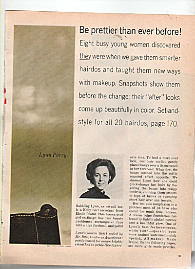 New Hairdos for 8 busy young women - 1966 (Image1)