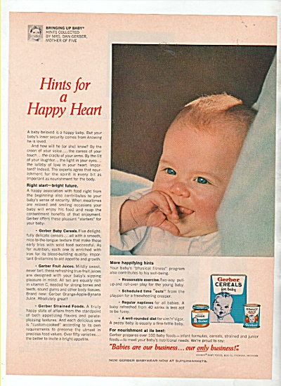 Gerber Cereals for baby ad 1w966 (Image1)