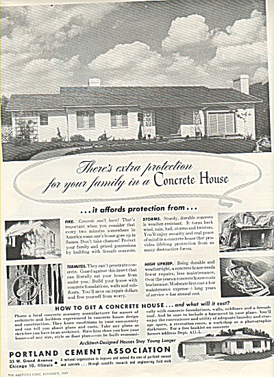 Portland Cement association  ad 1949 (Image1)