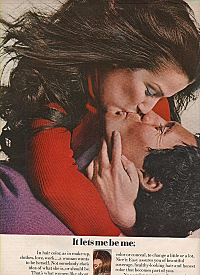 Nice 'n Easy from Clairol ad 1971 (Image1)