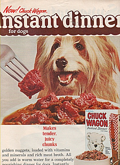 Chuck Wagon instant dinner ad 1971 (Image1)