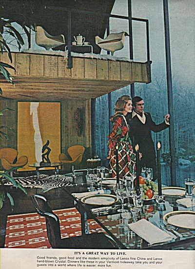 Lenox China crystal ad 1971 (Image1)