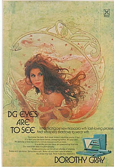 Dorothy Gray mascara ad 1971 (Image1)