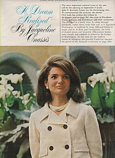 Jackie Kennedy-Onassis Mh5362a
