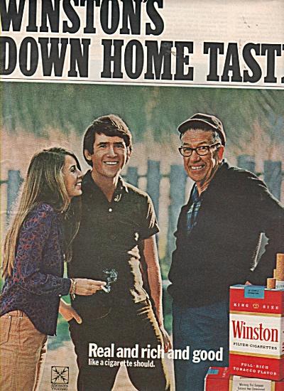 Winston cigarettes ad 1971 (Image1)