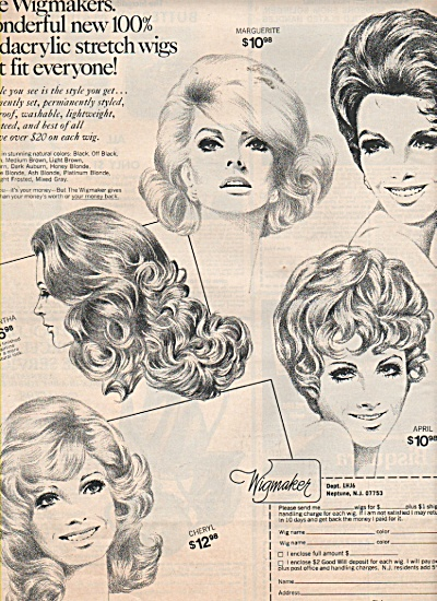 The Wigmakers ad 1971 (Image1)