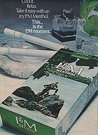 L & M. Menthol cigarettes ad 1971 (Image1)