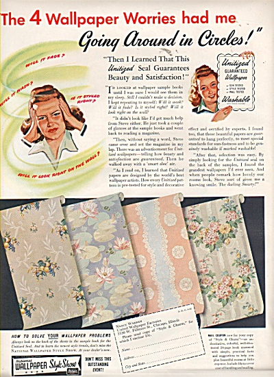 National wallpaper style show ad 1942 (Image1)
