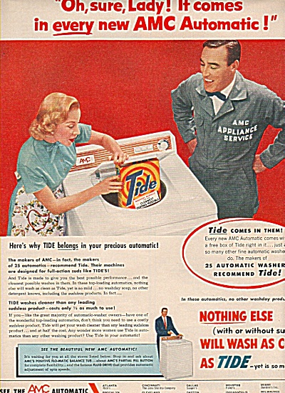 AMC automatic ad 1955 (Image1)