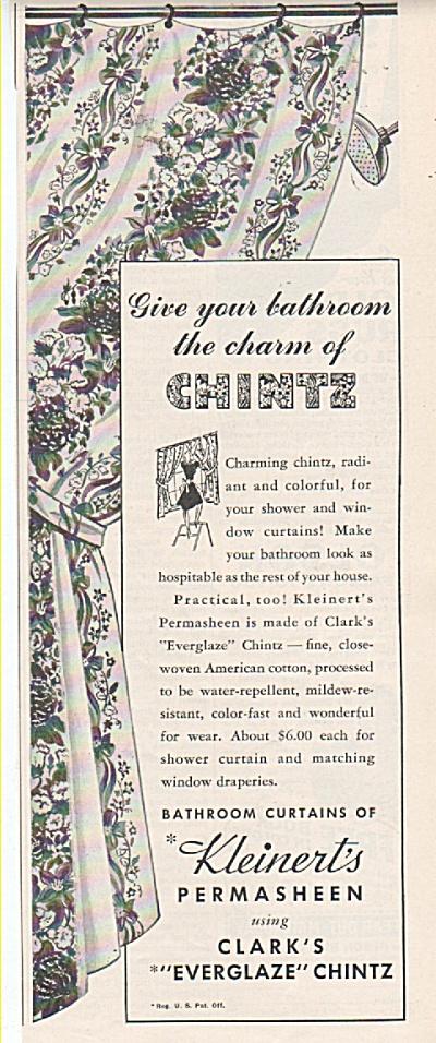 Kleinerts permassheen Chintz ad 1942 (Image1)