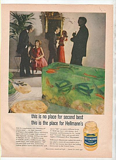Hellmanns mayonnaise ad 1960 (Image1)
