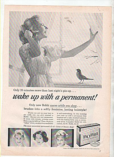 Bobbi permanent ad 1960 (Image1)