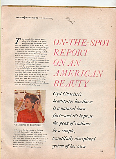 CYD CHARISSE story 1960 (Image1)